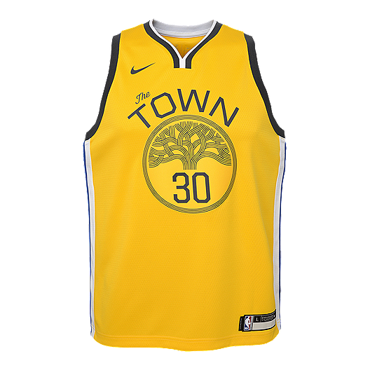 on sale 3eabf a341a Youth Golden State Warriors Curry Earned Edition Swingman ...