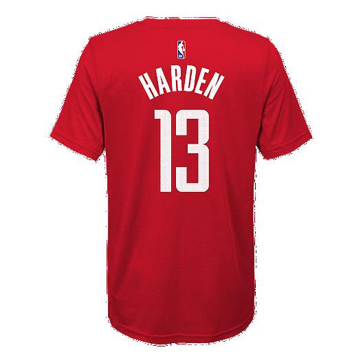 on sale 8f6c9 a7c76 Youth Houston Rockets Nike Harden Earned Edition Dri-FIT Tee