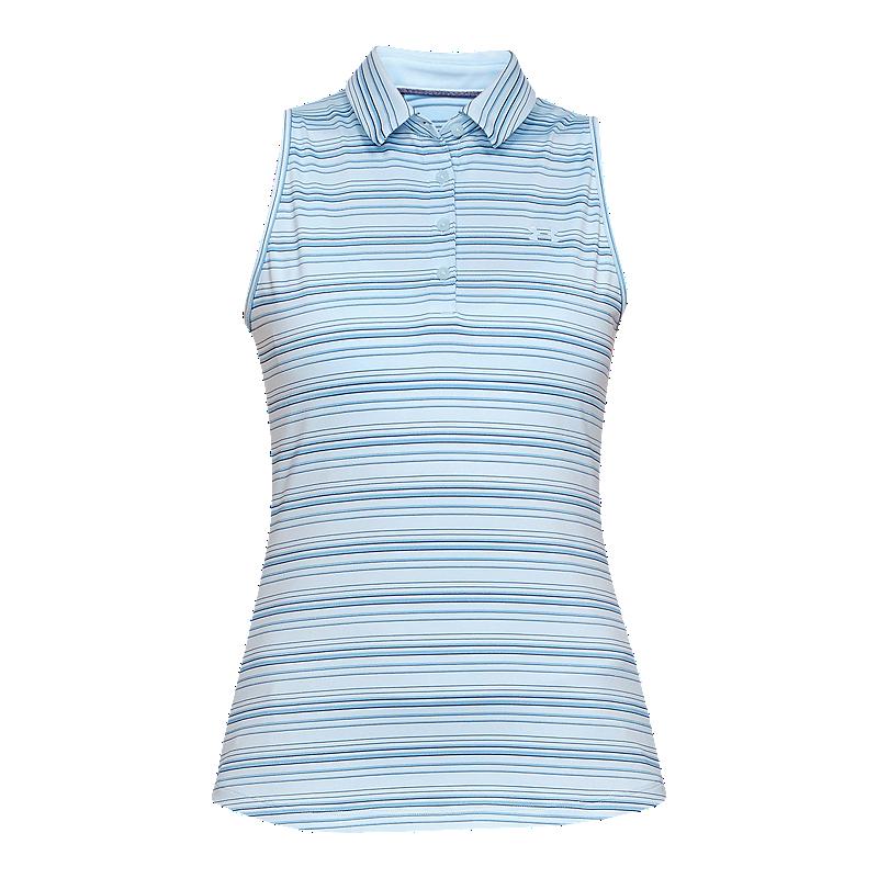 9d7578aa Under Armour Women's Zinger Sleeveless Novelty Golf Polo | Sport Chek