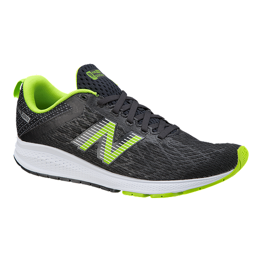 00f7ee31f87a4 New Balance Men's Fuelcore Quicka Running Shoes - Black/ Green | Sport Chek