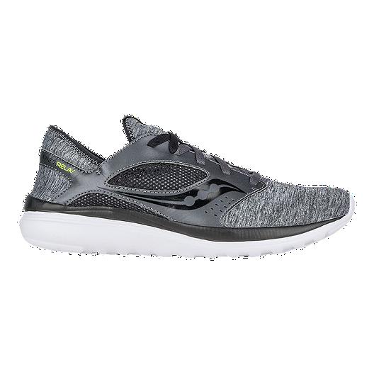 3a8e585d6d32 Saucony Men s Kineta Relay Running Shoes - Heathered Grey