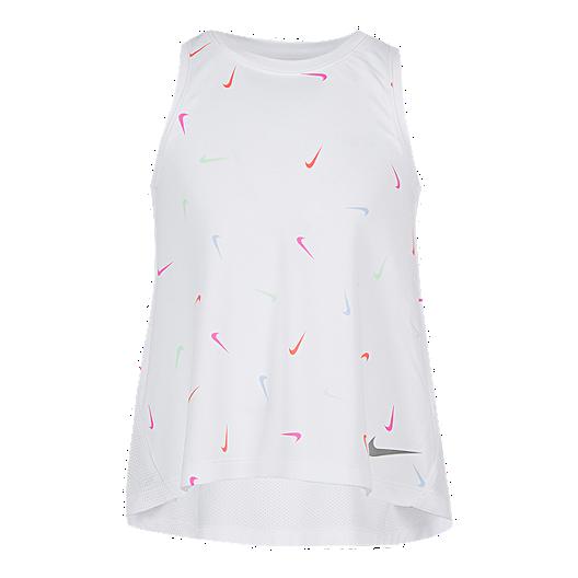 69f09641b Nike Girls' 4-6X Dri-Fit Swoosh Fetti All Over Print Tank | Sport Chek