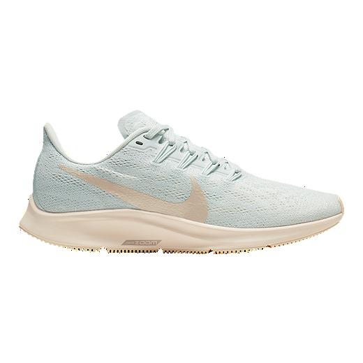 Nike Women's Air Zoom Pegasus 36 Running Shoes   Aqua/Cream by Sport Chek