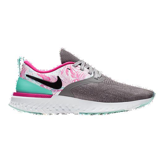 livraison gratuite dd2e4 dbe90 Nike Women's Odyssey React 2 Flyknit Running Shoes - Hyper Femme