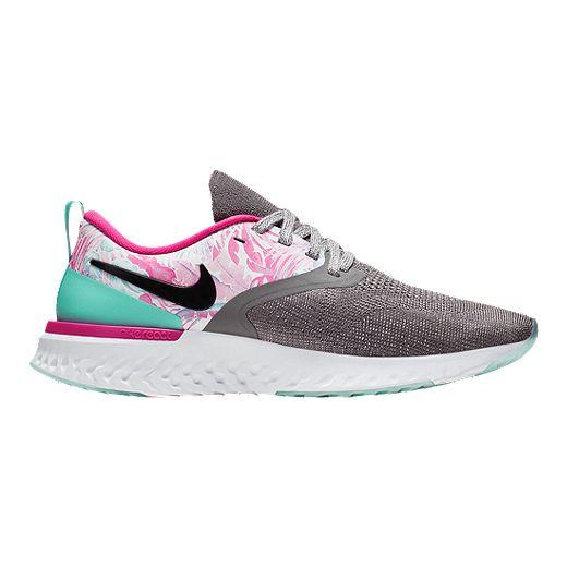Nike Women's Odyssey React 2 Flyknit Running Shoes - Hyper Femme ...