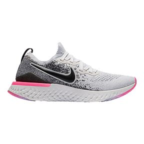 230c7060 Nike Women's Epic React Flyknit 2 Running Shoes - Teal White/Black