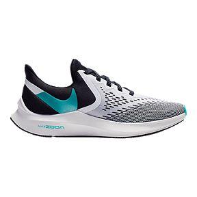 ef579517ff Nike Women's Zoom Winflo 6 Running Shoes - Black/Jade/Sapphire