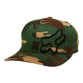 bf03ebee91ec04 Fox Kids' Flex 45 Flexfit Hat - Camo