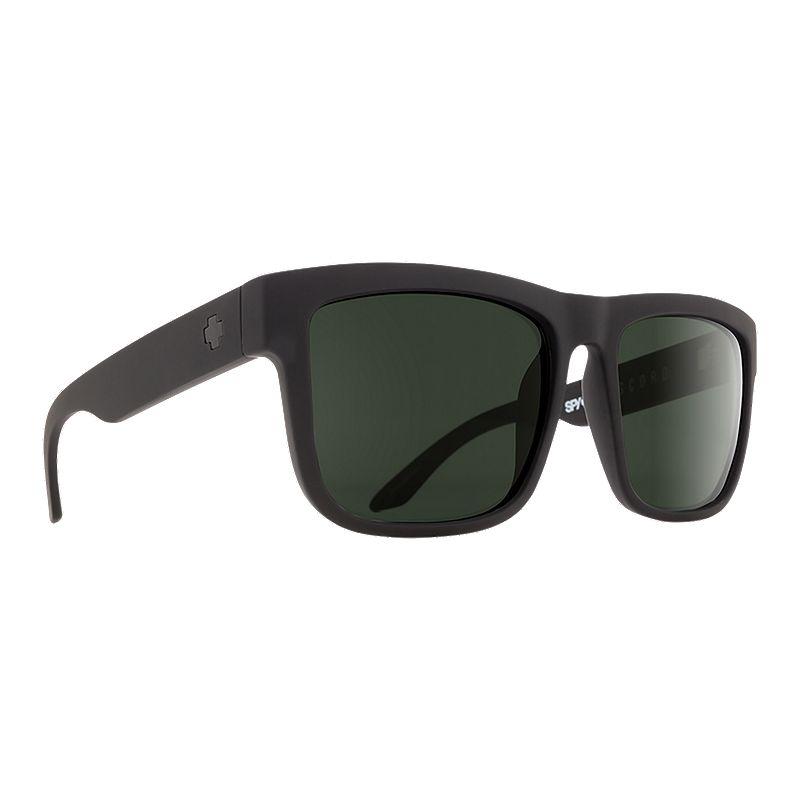 82b4f5d384662 Spy Discord Sunglasses - Soft Matte Black with Happy Gray Green Polarized  Lenses (648478757103)