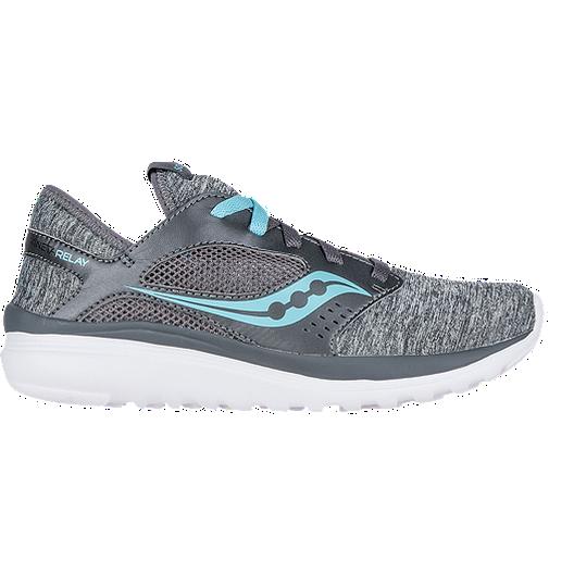 f196268480 Saucony Women's Kineta Relay Running Shoes - Heather/ Blue