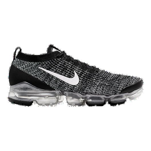 zniżka butik wyprzedażowy najlepszy Nike Men's Air Vapormax Flyknit 3 Shoes - Black/White/Silver