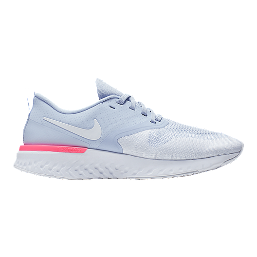 4189373492b Nike Women s Odyssey React 2 Flyknit Running Shoes - Blue