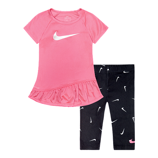 40088d24a Nike Girls' Baby Dri-FIT Sport Tunic N Swoosh Fetti Tight   Sport Chek