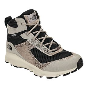 The North Face Girls  Hedgehog Hiker II Mid Waterproof Hiking Boots - Silt  Grey  26db0cfb89