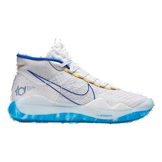 buy popular d3a18 bba96 Nike Men s Zoom KD 12 Basketball Shoes - White Gold   Sport Chek