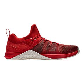 buy online 85f6e cc3d8 Nike Men s Metcon Flyknit 3 Training Shoes - Red White