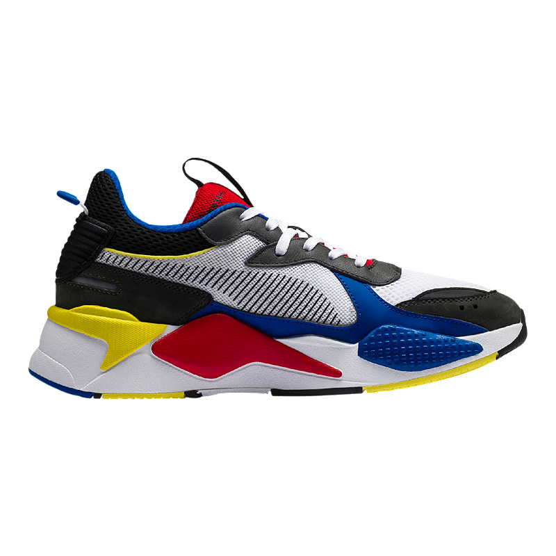 f031146cf3e Puma Men s RS-X Toys Trend Shoes - White Royal Red
