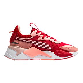 d55b4d489298bc PUMA Women s RS-X Toys Trend Shoes - Peach Red White