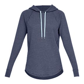 5ff0006ca8aa Under Armour Women s Waffle Hoodie - Utility Blue Full Heather