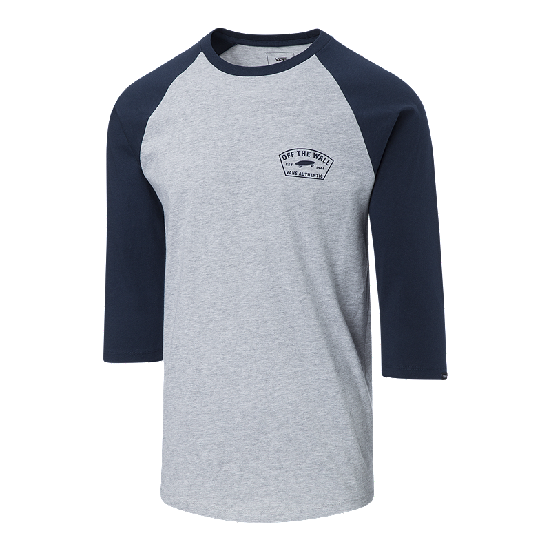 0c8eb0a7ca Vans Men's Workwear Raglan Shirt - Dress Blues