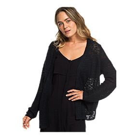 604f9c4149 Roxy Women's Liberty Discover Cardigan - Black
