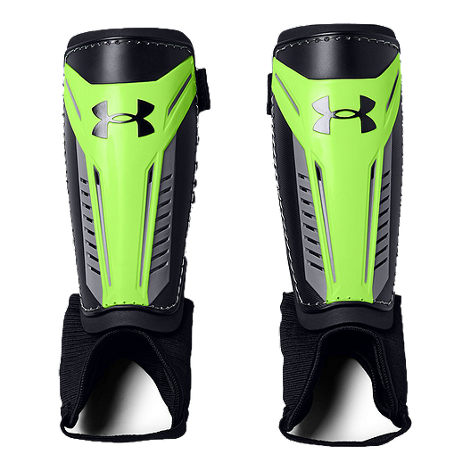 409958506 Under Armour Challenge Youth Soccer Shin Guard - Lime Light   Sport Chek