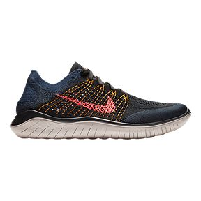 timeless design 3ada9 66999 Nike Men s Free RN Flyknit 2018 Running Shoes - Black Red