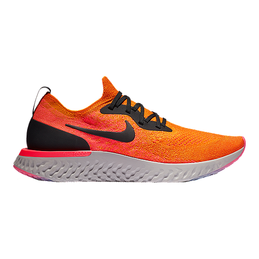 5399a2cec116 Nike Men s Epic React Flyknit Running Shoes - White Red