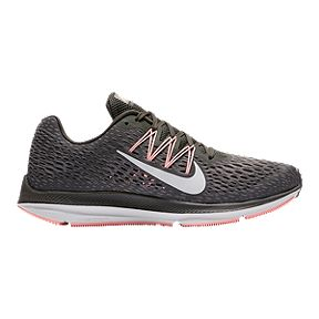 c0b2ed2ad06e Nike Women s Air Zoom Winflo 5 - Gray Pink White