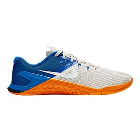 5812b9a68 Nike Men's Metcon 4 XD Training Shoes - White/Blue/Orange