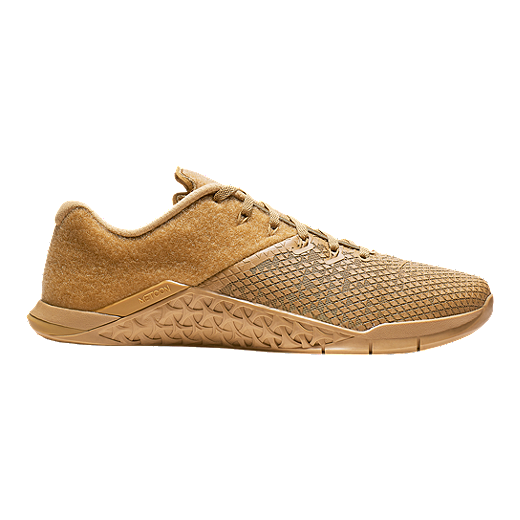 best service fce02 0764a Nike Men s Metcon 4 XD Patch Training Shoes - Brown - ELEMENTAL  GOLD ELEMENTAL GOLD