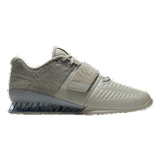 best website ae3b4 918ba Nike Men s Romaleos 3 XD Patch Training Shoes - Grey   Sport Chek