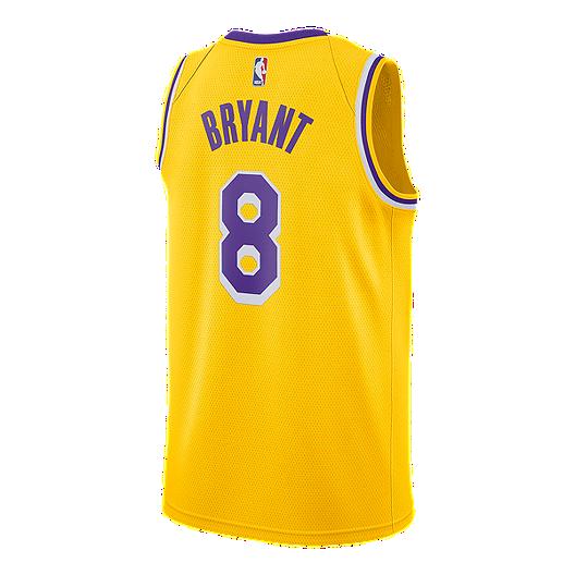 4a144741c LA Lakers Nike Men s Kobe Bryant Swingman Jersey