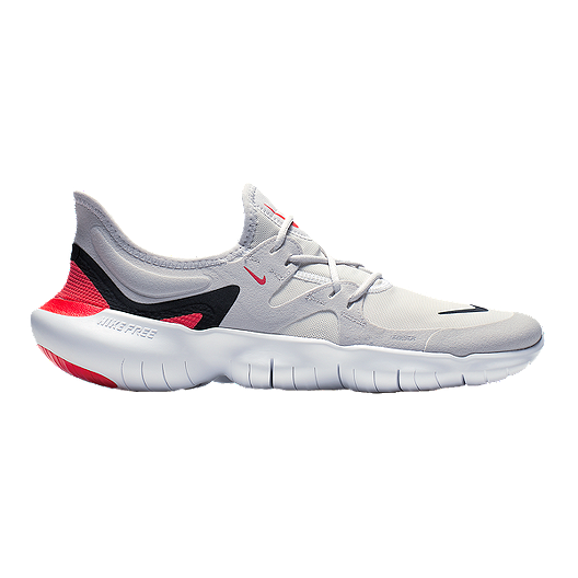 sale retailer cdf6d e1eac Nike Men's Free RN 5.0 Running Shoes - Grey/Black/White
