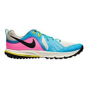 1dee683bddfe Nike Men s Air Zoom Terra Wild Horse 5 LT Trail Running Shoes - White Pink