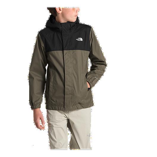 5104f23cc The North Face Boys' Resolve Reflective Rain Jacket