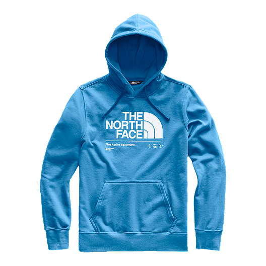 8b6477c9f The North Face Men's Half Dome Explore Pullover Hoodie - Heron Blue