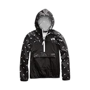 2f14ecbc5 The North Face Boys' Novelty Fanorak Packable Wind Jacket