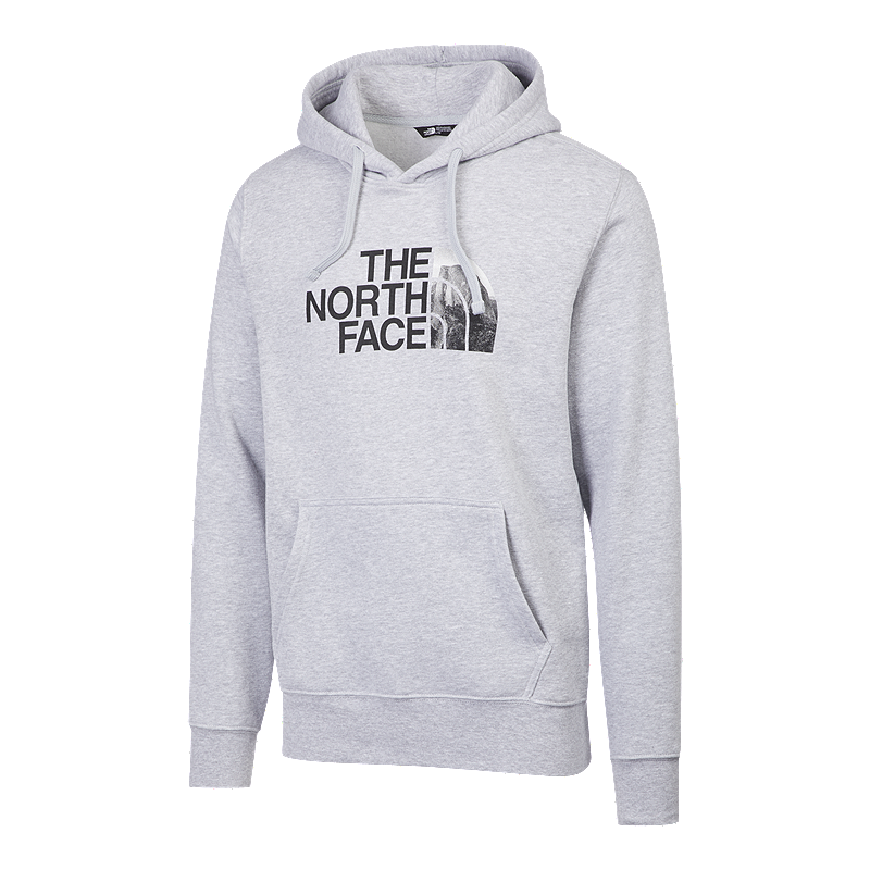 618bd5309e08b The North Face Men's Half Dome Stayframe Pullover Hoodie - Grey | Sport Chek