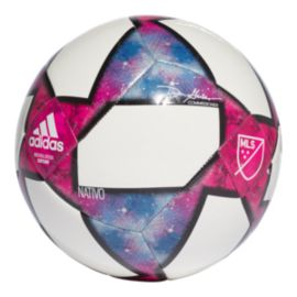 adidas Mls Cpt Soccer Ball Size 5 - White/Black