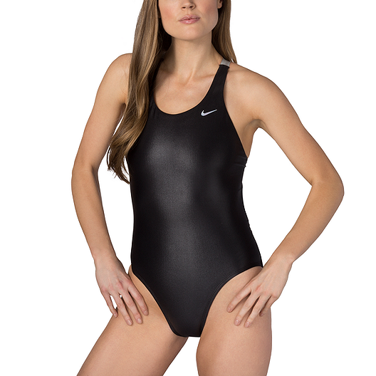 5e731cb9e4594 Nike Women's Flash Bonded Fast Back One Piece Swimsuit