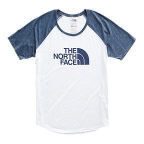 4b59a2a61d The North Face Women's Half Dome Graphic Tri-Blend Baseball T Shirt