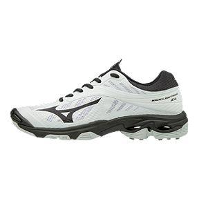 269e7579c1f Mizuno Women s Wave Lightning Z4 Indoor Court Shoes - White Black
