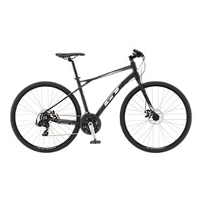 GT Transeo Sport 700c Men's Hybrid Bike 2019 - Black