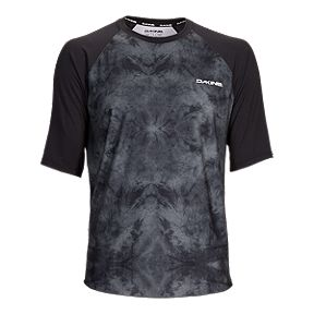 d4fe3ca579c9 Dakine Dropout Men s Short Sleeve Mountain Bike Jersey - Black Haze