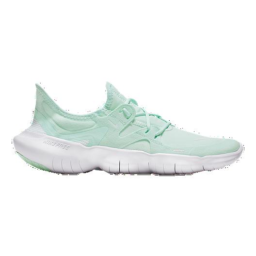 Nike Women's Free RN 5.0 Running Shoes TealWhite
