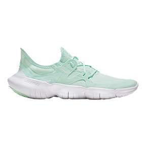 Nike Women's Free RN 5.0 Running Shoes - Teal/White