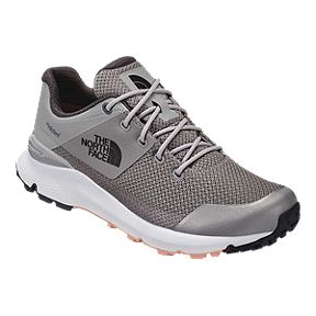c7a2ec00ae4 The North Face Women s Vals Waterproof Hiking Shoes - Meld Grey Pink Salt