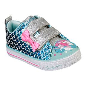 best service 6b77a ad3c2 Skechers Girl Toddler Twinkle Toes Mermaid Parade Shoes - Turquoise