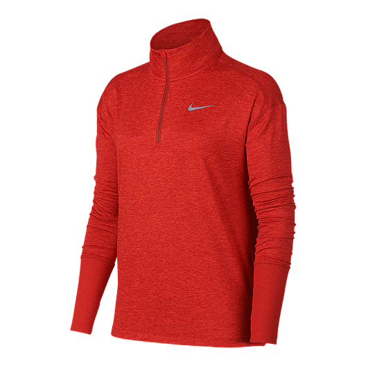 b609cda7 Nike Women's Element 1/2 Zip Long Sleeve Running Shirt | Sport Chek